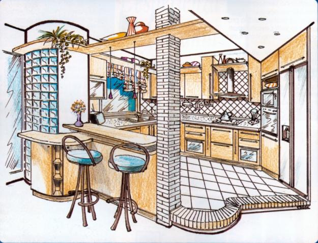 Progettazione d 39 nterni e arredamento for Arredamento architettura interni